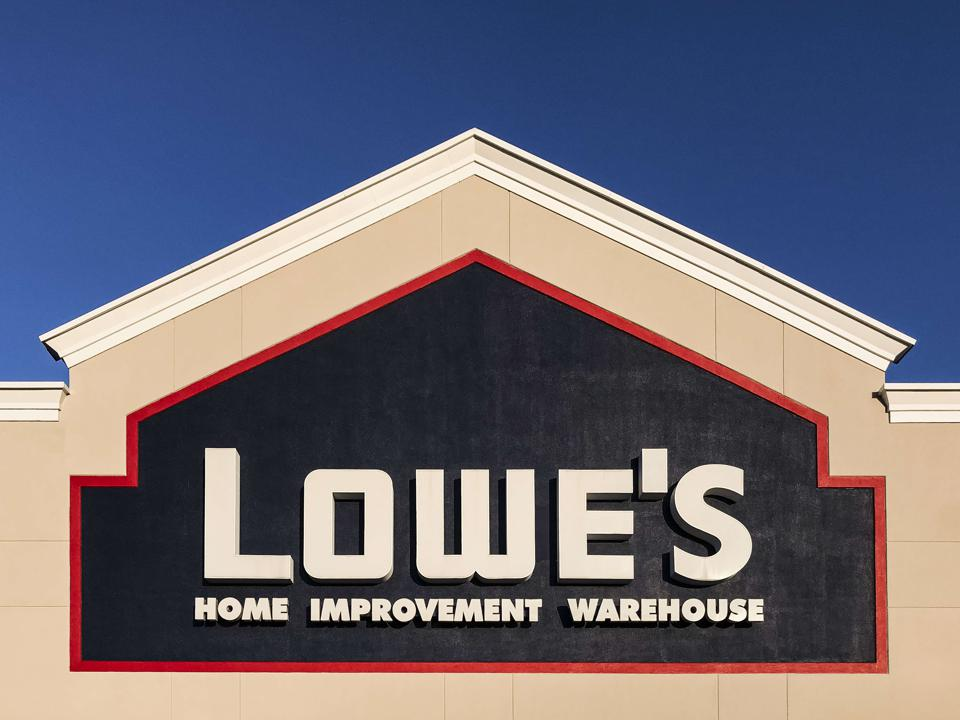 Lowe's home improvement superstore...